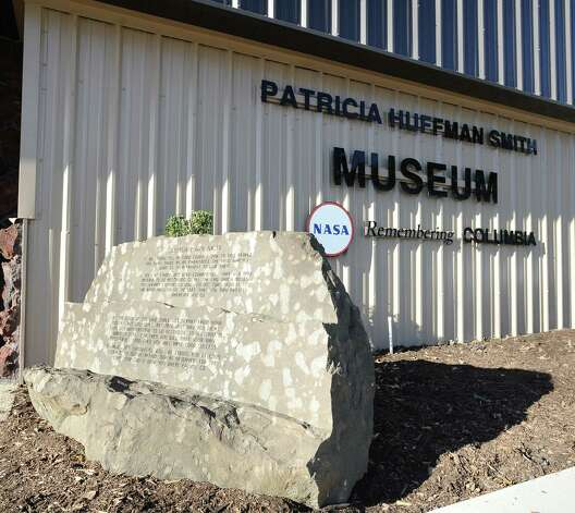 Free admission and tours are offered at the Patricia Huffman Smith Museum/ NASA Remembering Colombia Museum in Hemphill on NASA Night to commemorate the 10th anniversary of the day the Columbia space shuttle broke apart over Hemphill. Photo taken: Randy Edwards/The Enterprise Photo: Randy Edwards