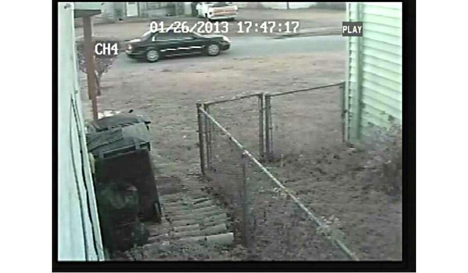 Surveillance photo of car seen in area Photo: HPD