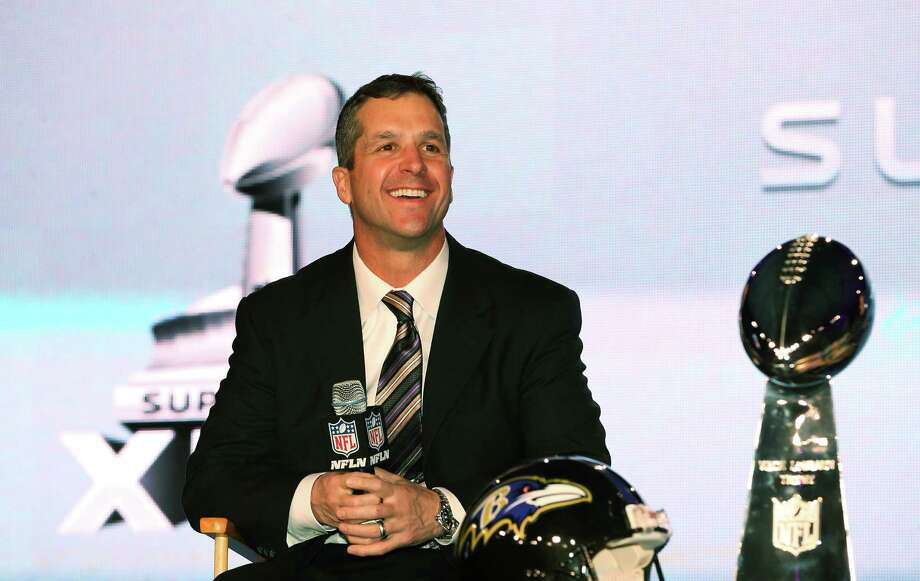 Quoth the Raven: I like TrumpThe Baltimore Ravens' Super Bowl-winning head coach John Harbaugh supports Donald Trump's border wall proposal.Click to see what the U.S.-Mexico border really looks like. Photo: Christian Petersen, Getty Images / 2013 Getty Images