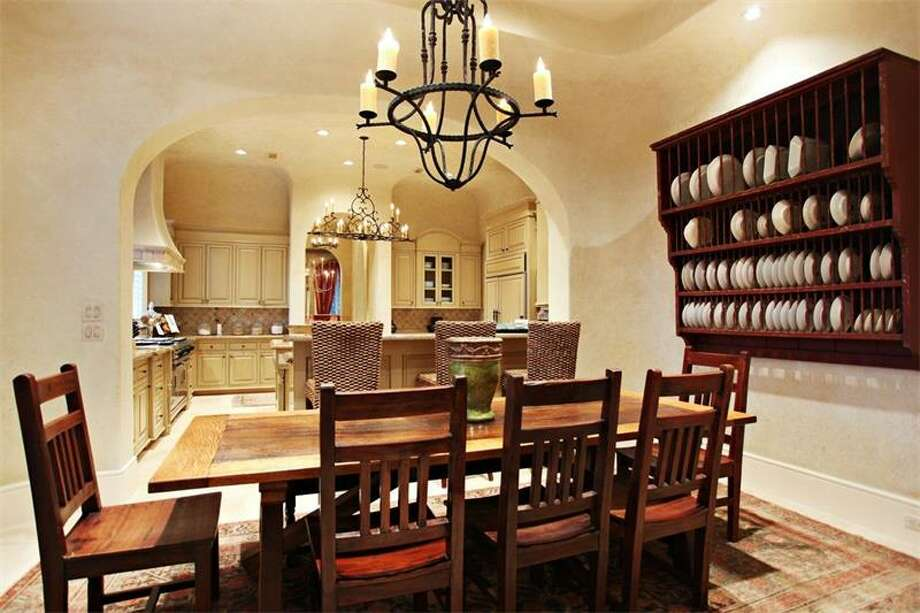 This two-story French chateau-style home is defines balance and beauty, and showcases attention to detail, and exceptional millwork and finishes.
