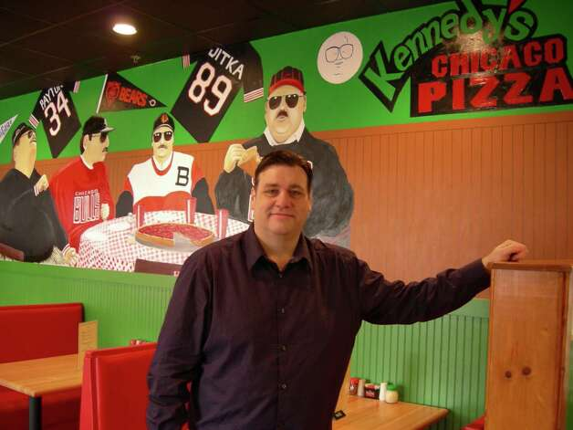 Clint Kennedy opened his first from Kennedy's Chicago Pizza in 2009 in San Antonio. Stefanie Arias/ San Antonio Express-News