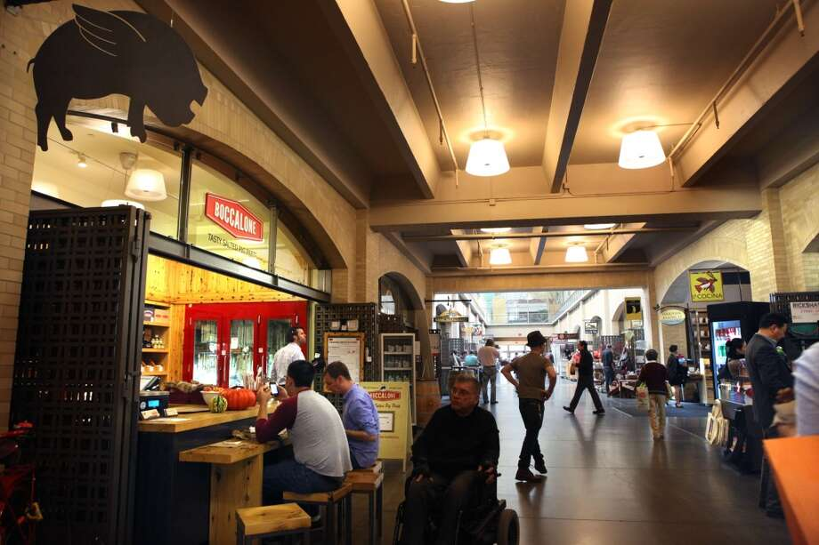 Boccalone inside the Ferry Building is offering meat-filled party platters for pick up, with 24 hours notice. The classic platter feeds 10+ non-vegetarians and includes 5 types of salumi, marinated olives and house-made mustard for $50. Custom platters also available.