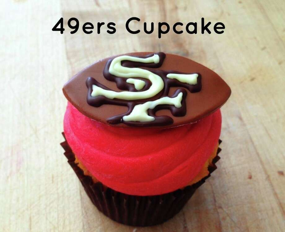 Baker & Banker is making 49ers cupcakes. Call the bakery to pre-order or pick-up on game day. 415-351-2500.