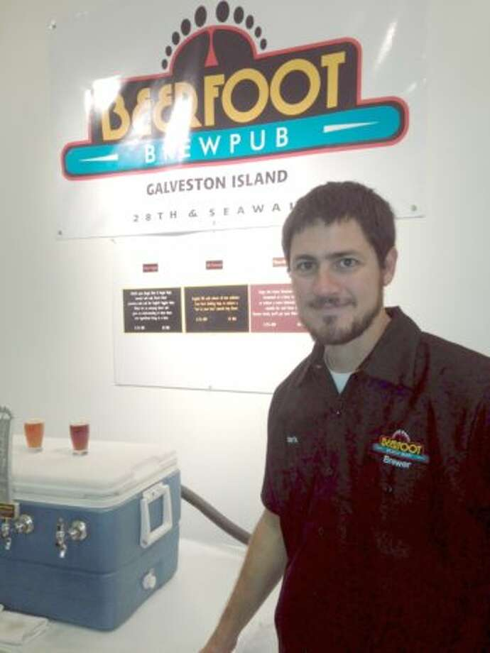 Mark Dell'Osso is Beerfoot's promising young brewer.