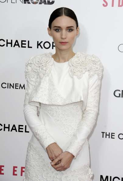 Actress Rooney Mara  attends the premiere of Side Effects hosted by Open Road with The Cinema Societ