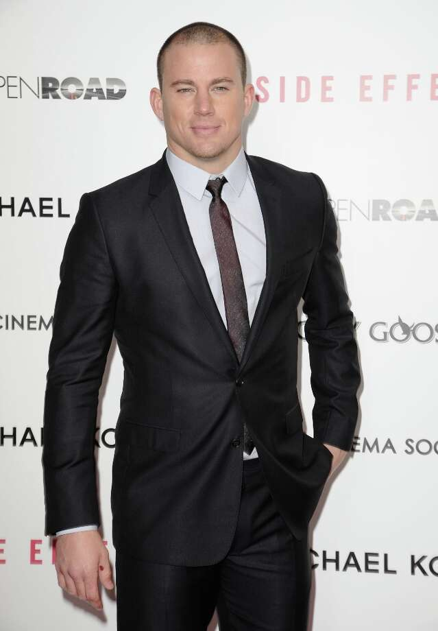 Actor Channing Tatum attends the premiere of Side Effects hosted by Open Road with The Cinema Society and Michael Kors at AMC Lincoln Square Theater on January 31, 2013 in New York City. Photo: Dave Kotinsky, Getty Images / 2013 Getty Images