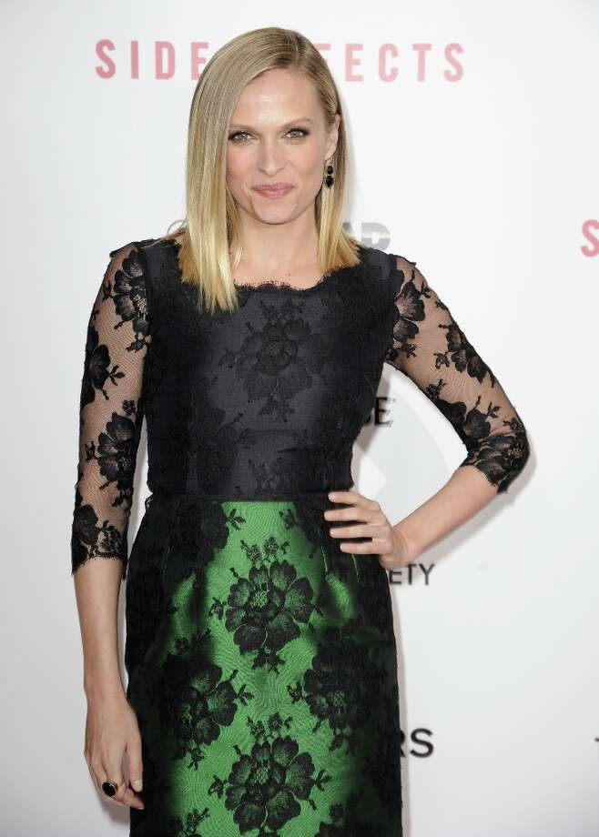 Vinessa Shaw attends the premiere of Side Effects hosted by Open Road with The Cinema Society and Michael Kors at AMC Lincoln Square Theater on January 31, 2013 in New York City. Photo: Dave Kotinsky, Getty Images / 2013 Getty Images