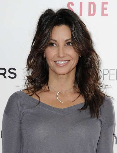 Gina Gershon attends the premiere of Side Effects hosted by Open Road with The Cinema Society and Mi
