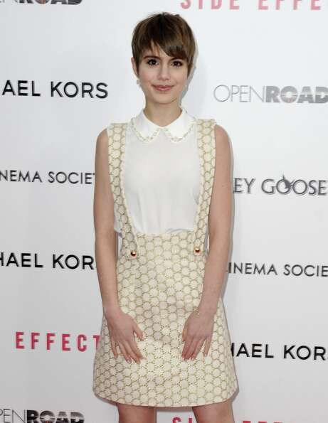 Sami Gayle attends the premiere of Side Effects hosted by Open Road with The Cinema Society and Mich