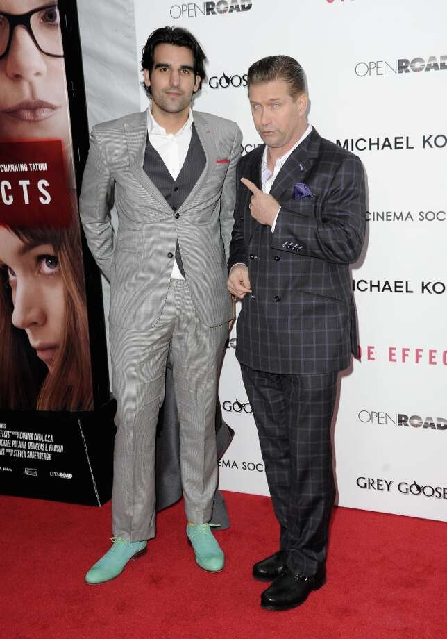 Stephen Baldwin (R) and guest attend the premiere of Side Effects hosted by Open Road with The Cinema Society and Michael Kors at AMC Lincoln Square Theater on January 31, 2013 in New York City. Photo: Dave Kotinsky, Getty Images / 2013 Getty Images