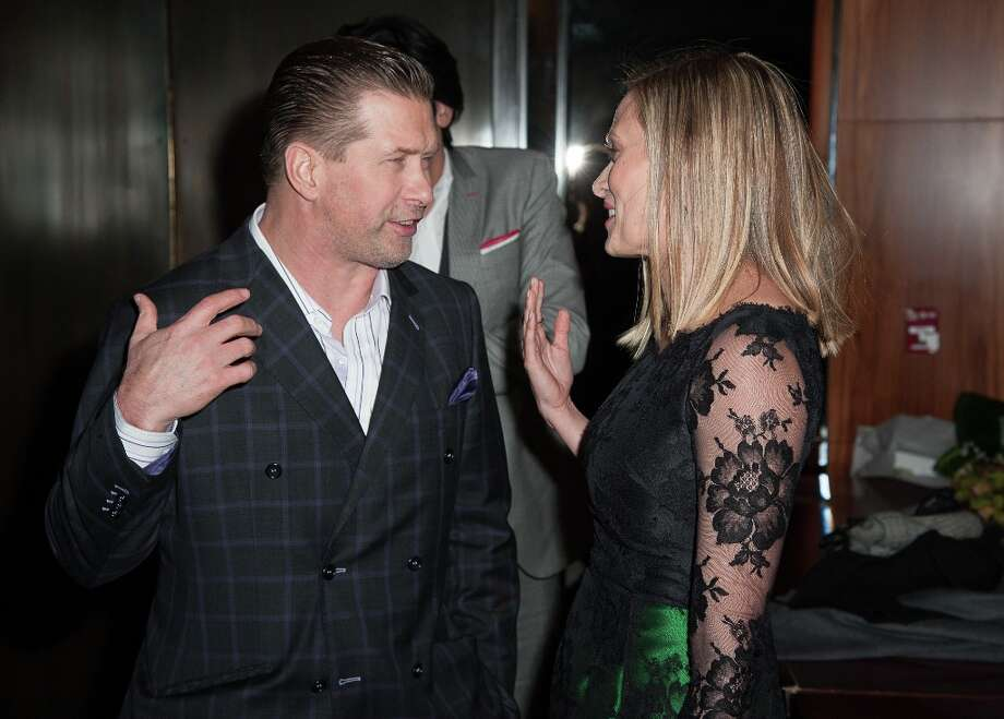 Stephen Baldwin and Vinessa Shaw attend the premiere after party for Side Effects hosted by Open Road with The Cinema Society and Michael Kors at Stone Rose Lounge on January 31, 2013 in New York City. Photo: Dave Kotinsky, Getty Images / 2013 Getty Images
