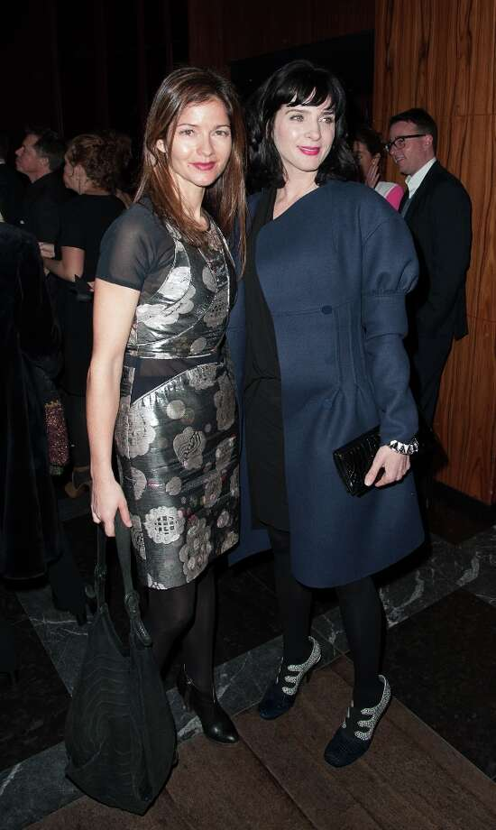 Jill Hennessy and Michele Hicks  attends Open Road With The Cinema Society And Michael Kors Host The Premiere Of Side Effects at Stone Rose Lounge on January 31, 2013 in New York City. Photo: Dave Kotinsky, Getty Images / 2013 Getty Images