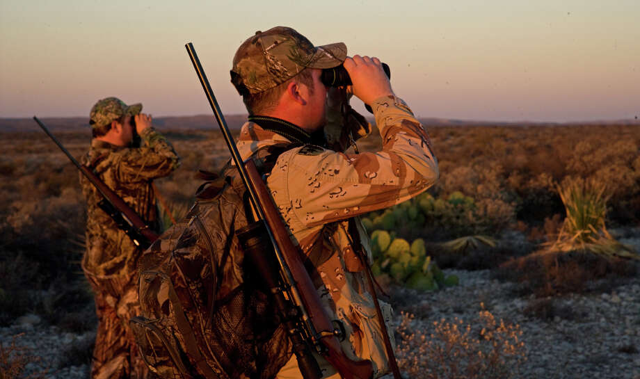 Hunting or fishing? Photo: For The Express-News