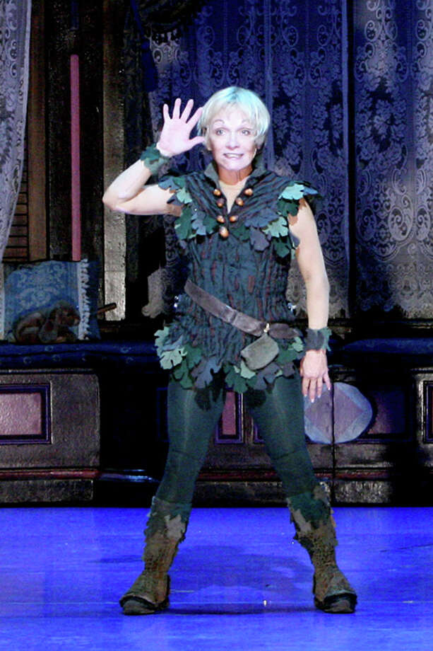 "Cathy Rigby has returned to the title role of ""Peter Pan"" in a tour that will bring her to Waterbury's Palace Theater Feb. 15 to 17. Photo: Contributed Photo / Connecticut Post Contributed"