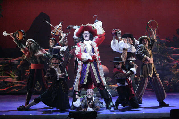 "Broadway leading man Brent Barrett is playing Captain Hook in the touring production of ""Peter Pan"" that arrives at the Palace Theater in Waterbury for a three-day run starting Feb. 15. Photo: Contributed Photo / Connecticut Post Contributed"