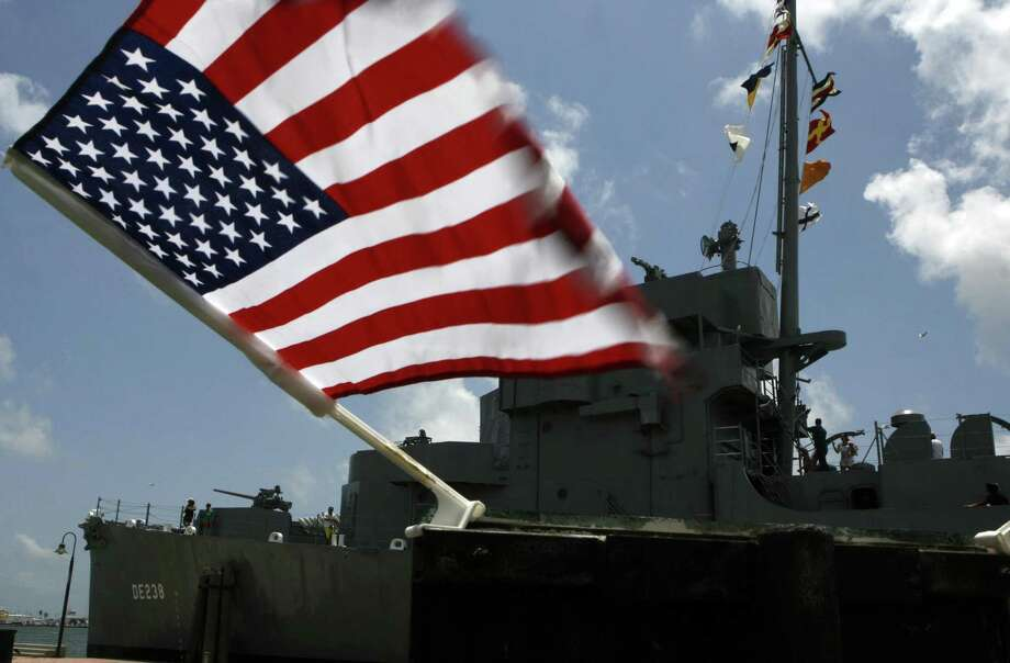 USS Stewart DE-238 at Seawolf Park in 2007. | Carlos Antonio Rios/Houston Chronicle Photo: Carlos Antonio Rios, Houston Chronicle / Houston Chronicle