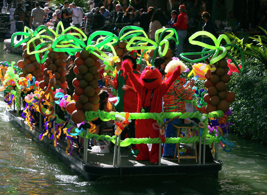 Bud Light Mardi Gras River Parade and Festival starts at 11 a.m. An arts and crafts show, meanwhile, runs Friday. File photos Photo: JOHN DAVENPORT, SAN ANTONIO EXPRESS-NEWS / jdavenport@express-news.net
