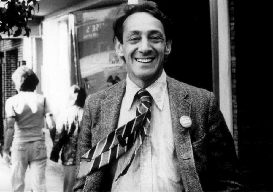Harvey Milk, the first openly gay elected official in the U.S. Photo: DAN NICOLETTA, SEE CAPTION / HANDOUT PRINT 2000