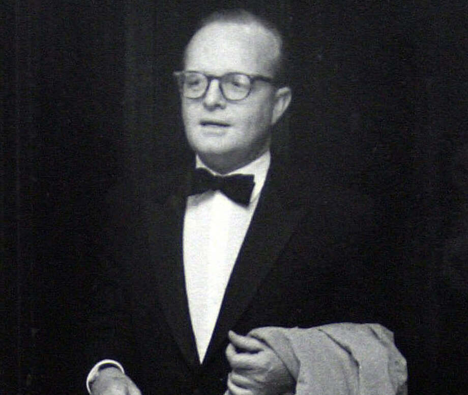 Truman Capote, who wrote In Cold Blood Photo: AP / THE WASHINGTON POST