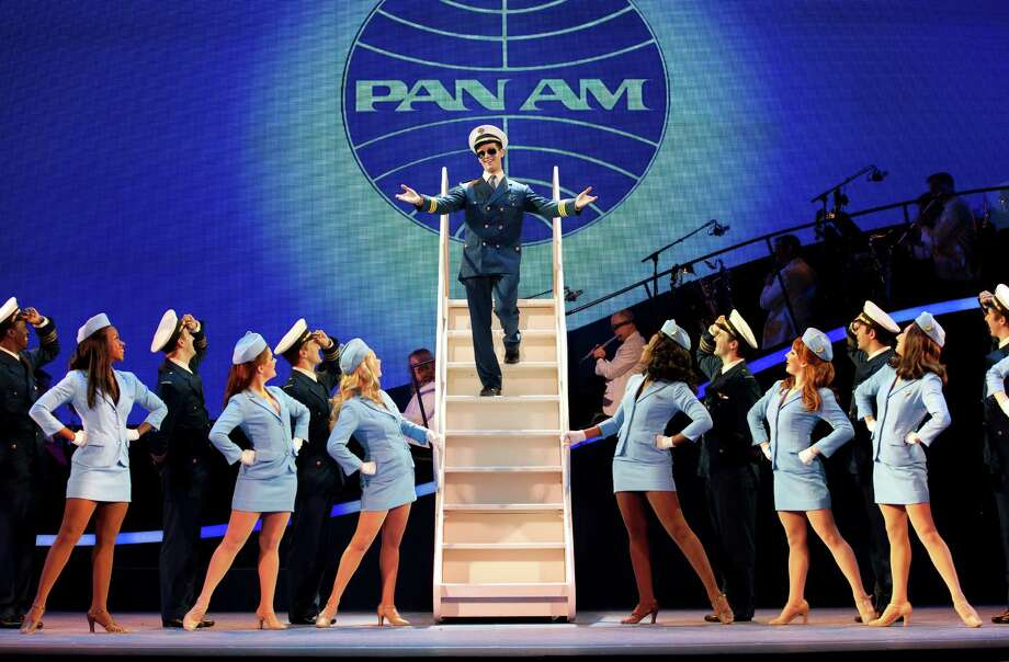 The touring production of the Broadway musical  Catch Me If You Can  comes to the Hobby Center Feb. 5-10. The show concerns the story of Frank Abagnale Jr., a con artist who passed himself off as a doctor, lawyer and a jet pilot before age 21. Photo: Carol Rosegg