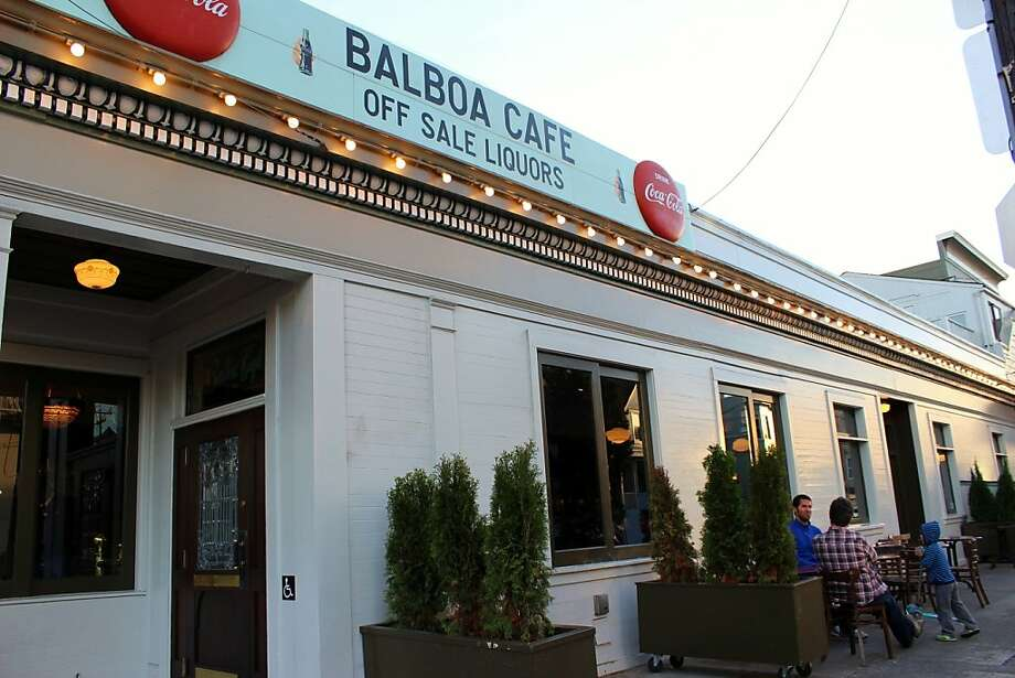 Balboa Cafe Photo: Stephanie Wright Hession
