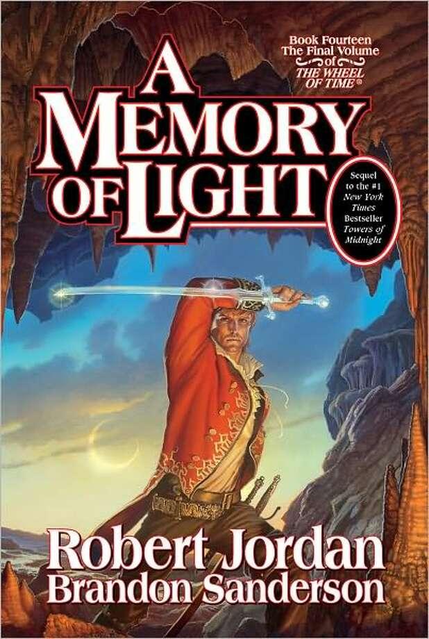 """BOOK JACKET - """"A Memory of Light,"""" by Robert Jordan / handout"""