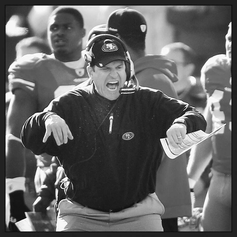 Jim Harbaugh. Photo: Getty Images