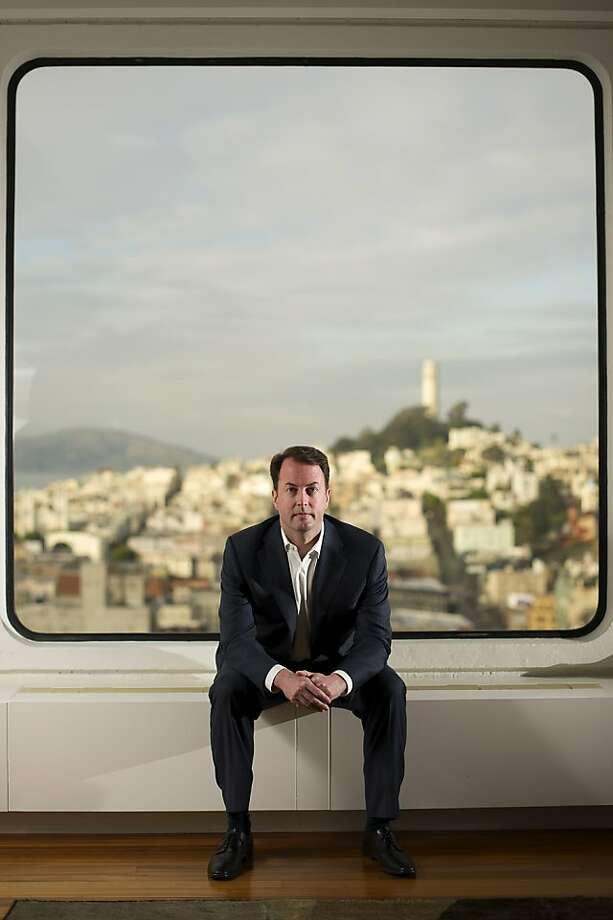 Bob Tennant, CEO of Recommind, says his S.F. startup will consider both private money and an IPO. Photo: David Paul Morris, Bloomberg