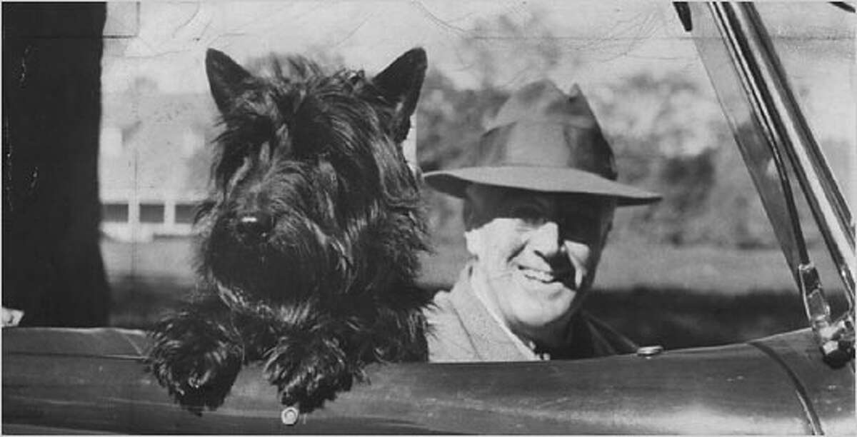 Fala Fala the Scottie garnered attention when Franklin D. Roosevelt when Republican opponents circulated the story that FDR had sent a destroyer to the Aluetian Islands to pick up Fala, who had been stranded there.