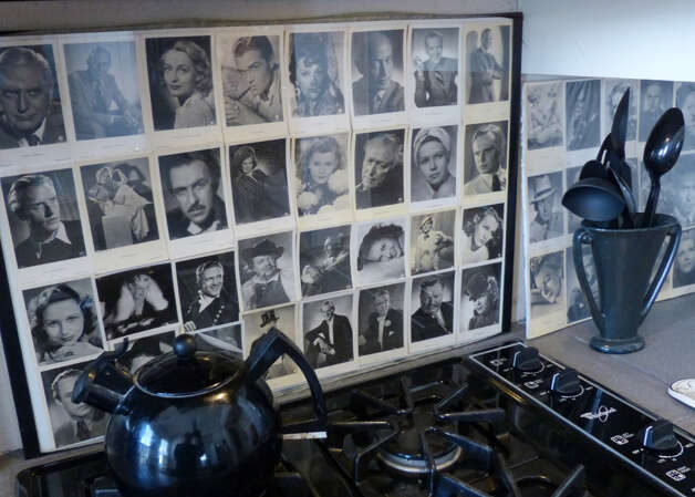 German movie star cards adorn the kitchen of the Pancoast home south of downtown San Antonio on Wednesday, Jan. 30, 2013. Photo: Billy Calzada, San Antonio Express-News / SAN ANTONIO EXPRESS-NEWS