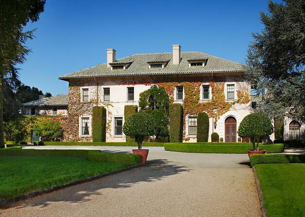 This $100 million, 47.4-acre, estate in Hillsborough has been in the de Guigne family for 150 years. Photo: Gregg Lynn