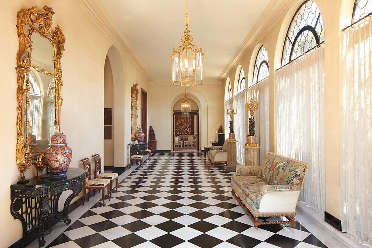 This 47.4-acre estate in Hillsborough, just listed for $100 million, has been in the de Guigne family for 150 years. The current resident, Christian de Guigne IV, is retaining a lifetime interest in the property even after it s sold. The 16,000 square foot Mediterranean-style house by designed by the same architects who designed the St. Francis Hotel.