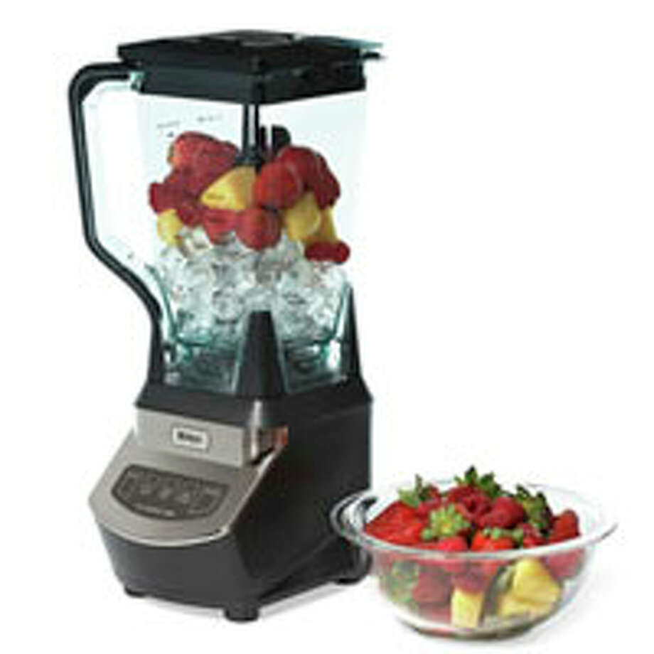 """Ninja Kitchen System 1100$159.80  Free S&HThe Pitch: """"Create all of your favorite recipes with just one touch of a button!""""The Truth:  We tested the Ninja for its ability to replace a blender, food processor, mixer, and juicer, and to make """"creamy"""" ice cream. It crushed ice exceptionally well, ground coffee beans and chopped onions evenly, and made a consistently smooth, if grainy, smoothie and margarita. It kneaded pizza dough and beat cookie dough, though not as easily as a mixer would. It blended frozen fruit, ice, and cream, making a soft frozen mixture, but not ice cream. Also under par: Our attempt at salsa resulted in barely chopped onions and pulverized tomatoes, and we found juicing fruit made fruit puree instead of juice.The Bottom Line:  The Ninja Kitchen System 1100 is a good stand-in for a blender or mini-chopper. But for its price, you could buy one of each of those, plus a hand mixer. Photo: J Muckle/Studio D / Hearst Communications Inc., 2011"""