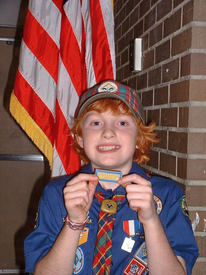 Evan earned his Arrow of Light Award, which is the Cub Scouts highest award, on October 26, 2012. He worked very hard for a year to earn it and finally achieved his goal!  Mark and LAURA CZOLOWSKI
