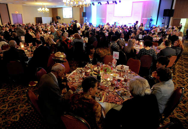"A packed house attended the Julie Rogers ""Gift of Life"" Program's An Evening of Gratitude at the MCM Elegante Thursday night. The event recognized several area residents who recently died including Jack Brooks, Bill Leger, Mildred Manion, Fred Ussery and others.  Photo taken Thursday, January 31, 2013 Guiseppe Barranco/The Enterprise Photo: Guiseppe Barranco, STAFF PHOTOGRAPHER / The Beaumont Enterprise"