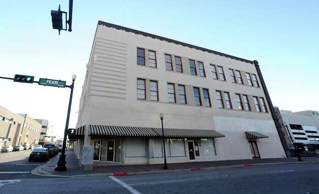 The former Gulf Electric building at 620 Pearl Street in downtown Beaumont is now used as lofts for residents. Photo taken: Randy Edwards/The Enterprise