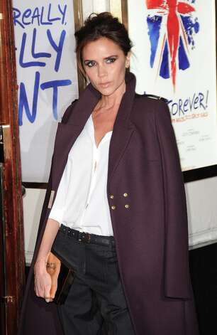 Victoria Beckham at the 'Viva Forever' premiere, not posing with her fellow Spice Girls. Photo: Stuart Wilson, Getty Images / 2012 Getty Images