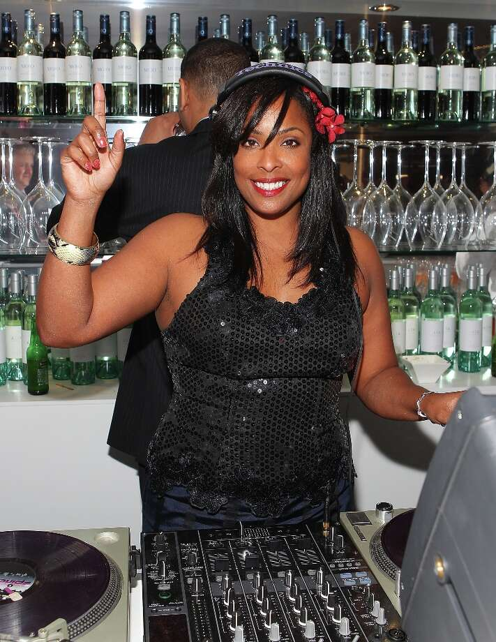 Deidra 'DJ Spinderella' Roper Djs in Melbourne, Australia, in 2010. Photo: Scott Barbour, Getty Images / 2010 Getty Images