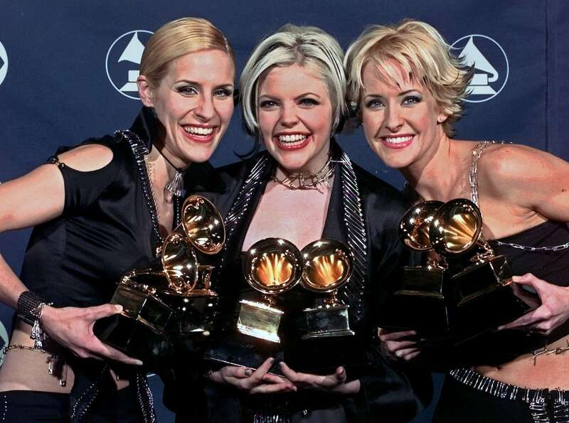 The Dixie Chicks — Emily Robison, Natalie Maines and Martie Maguire — won over a dozen Grammys a