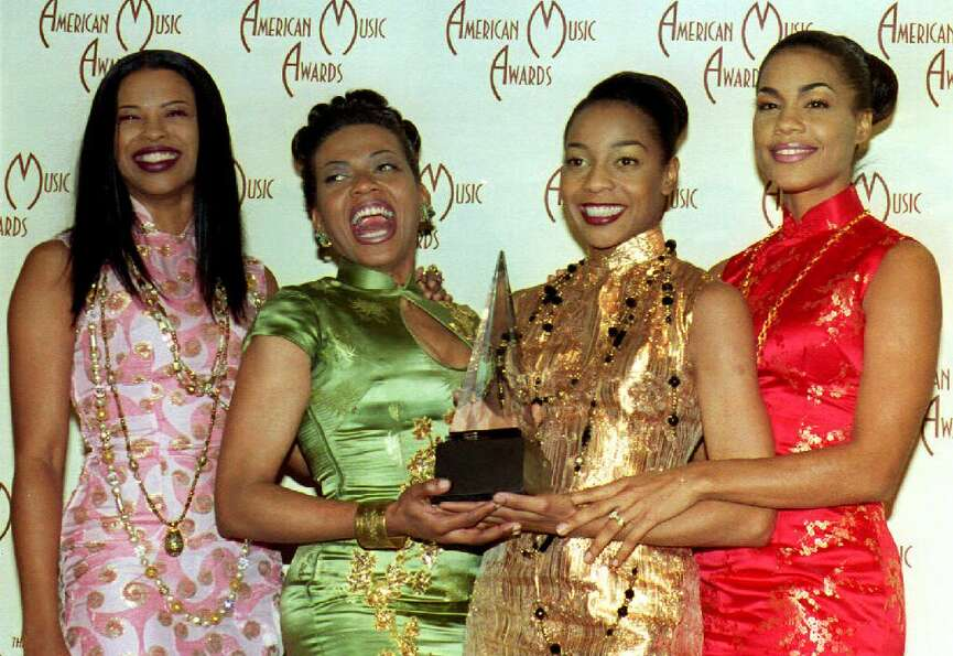 The Funky Divas of En Vogue — Dawn Robinson, Maxine Jones, Terry Ellis and Cindy Herron — at the