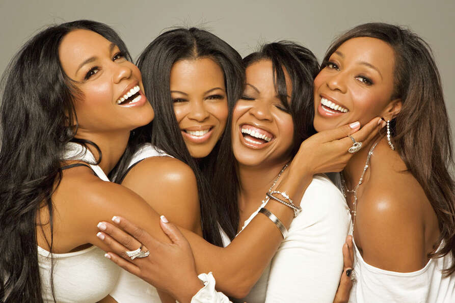 En Vogue in 2010. The ladies regrouped in the late 2000s, but split again in 2012.
