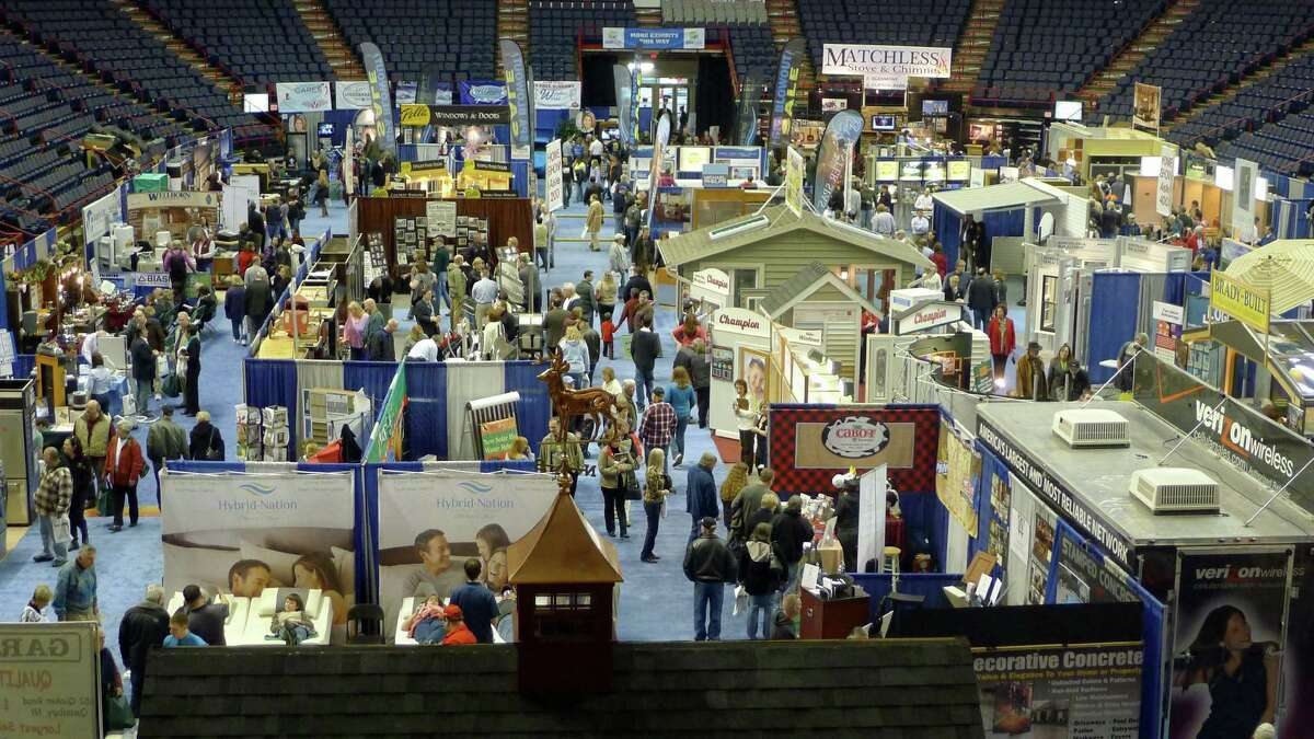The 33rd Great Northeast Home Show is at the Times Union Center from Friday through Sunday. Find out more here. ( Michael P. Farrell/Times Union)
