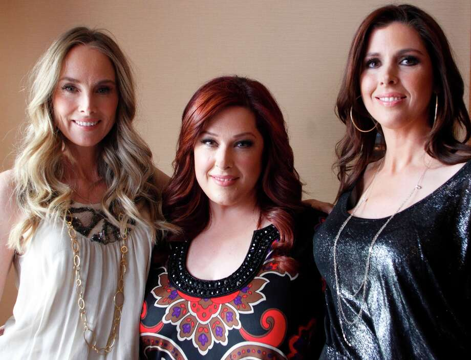 Here's the trio in 2012. They had their own reality show, 'Wilson Phillips: Still Holding On,' that year on the TV Guide Network, and got a little popularity bump when they were featured in 'Bridesmaids.' Photo: Danny Moloshok, ASSOCIATED PRESS / AP2012