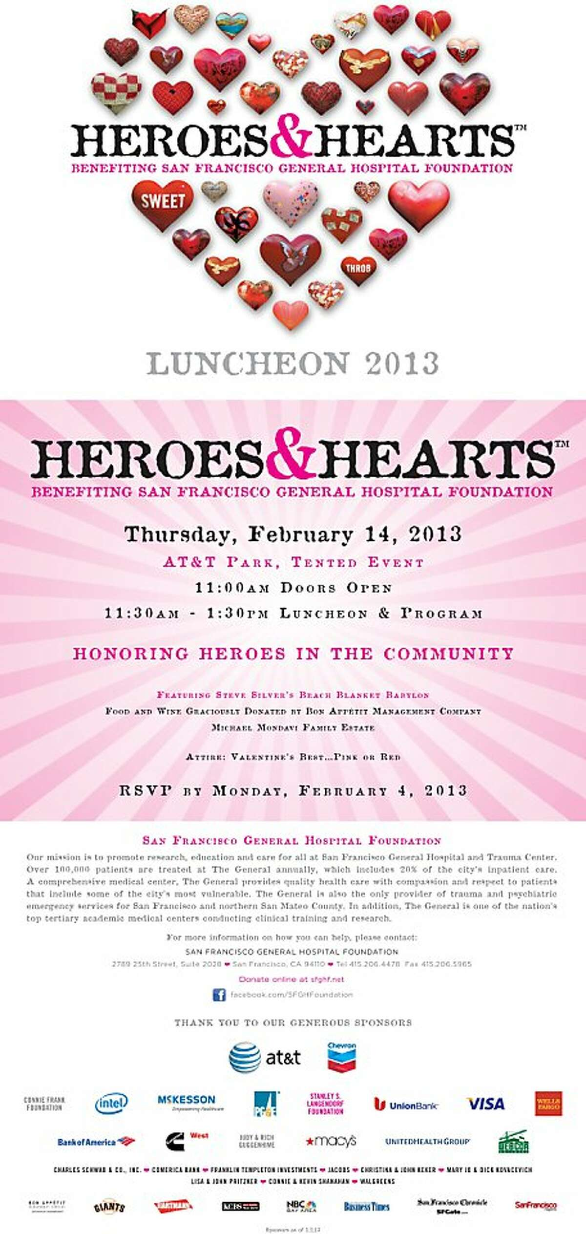 Heroes and Hearts 2013