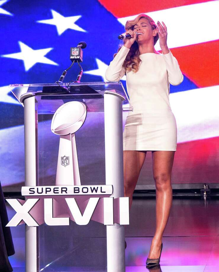 NEW ORLEANS, LA - JANUARY 31:  Beyonce speaks onstage at the Pepsi Super Bowl XLVII Halftime Show Press Conference at the Ernest N. Morial Convention Center on January 31, 2013 in New Orleans, Louisiana.  (Photo by Christopher Polk/Getty Images) Photo: Christopher Polk, Getty Images / 2013 Getty Images
