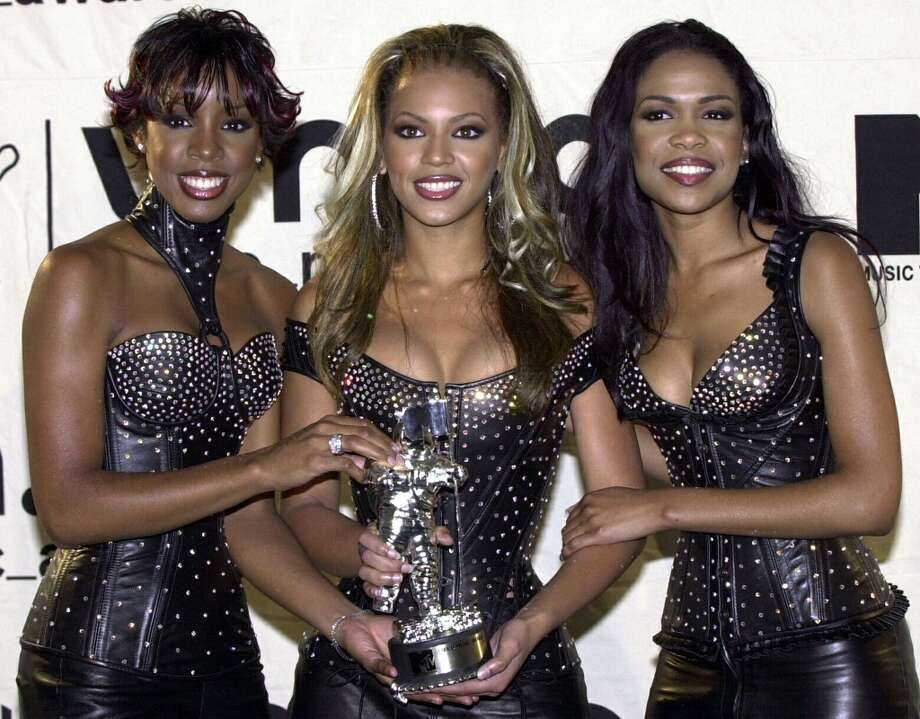 With all the rumors swirling about a 'will they or won't they' Destiny's Child Super Bowl reunion, we got a little nostalgic and starting thinking about other rocking, rapping and harmonizing ladies. So let's take a look at some of the bigger all-female groups from the past few decades, then and now. Here's Destiny's Child — Kelly Rowland, Beyonce Knowles and Michelle Williams — at the MTV VMAs in 2000. Photo: HENNY RAY ABRAMS, AFP/Getty Images / AFP