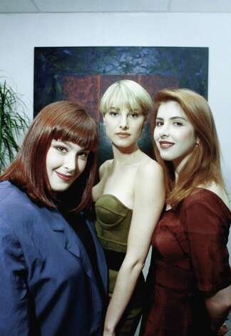 From left, Carnie Wilson, Chynna Phillips and Carnie's younger sister, Wendy Wilson, made up the group Wilson Phillips. Here they are in 1990. Photo: Sam Jones, ASSOCIATED PRESS / AP1990
