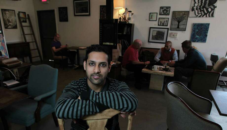 Doshi House, the creation of Deepak Doshi, is a coffeehouse in the Third Ward that Doshi hopes will become a valued gathering place in its community. Photo: James Nielsen, Staff / © Houston Chronicle 2013
