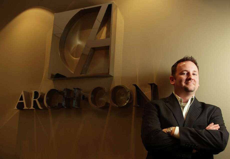 Brad Jameson joins Arch-Con as vice president of corporate interiors, a growing division for the design and construction company. Photo: Mayra Beltran, Staff / © 2013 Houston Chronicle