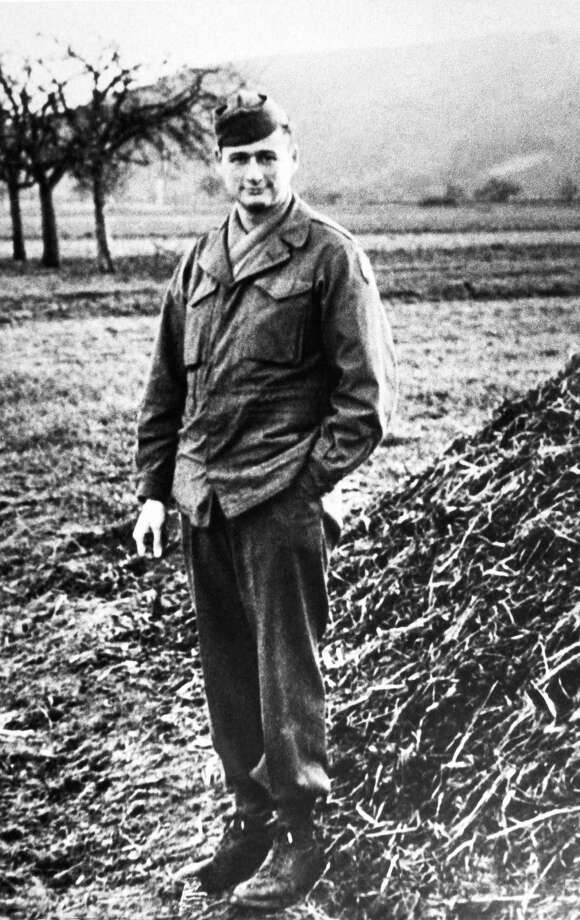 FILE - This 1944 file photo shows Ed Koch during his service in the U.S. Army in France. Koch, the combative politician who rescued the city from near-financial ruin during three City Hall terms, has died at age 88. Spokesman George Arzt says Koch died Friday morning Feb. 1, 2013 of congestive heart failure. Photo: Uncredited, AP / AP